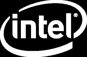 Intel Logo White